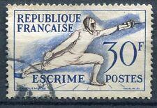 FRANCE TIMBRE OBL N° 962 ESCRIME