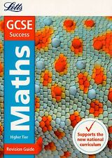 Letts GCSE Success Maths Higher Tier Revision Guide BRAND NEW BOOK (P/B 2015)