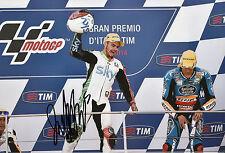 Romano Fenati mano firmato VR46 SKY RACING TEAM KTM 12x8 FOTO 2014 MOTO3 4.