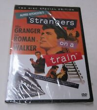Strangers on a Train (Dvd, 2004, 2-Disc Set) Rare Hitchcock Factory Sealed