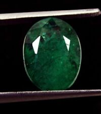 Zambia Natural Translucent Loose Emeralds