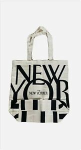 New Yorker Canvas Tote Bag Reusable Shopping Bag Brand New