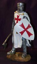 Statuette chevalier - statuette Templier - Statuette moyen age