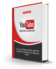 YouTube Marketing 3.0 Made Easy- eBook, Videos and  Bonuses on CD
