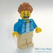 Lego Space Minifig - Camera Operator - Two Faces - ID CTY1033 - NEW - RARE