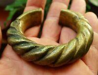 Bracelet Ancien Bronze Bijou Afrique Ethnique Mali Antique Ethnic African Bangle