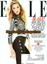 Elle 3/12,Blake Lively,Subscription Cover,March 2012,NEW