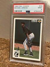 1994 Collectors Choice Michael Jordan #23 Baseball RC Card PSA 9 MJ NEW CASE