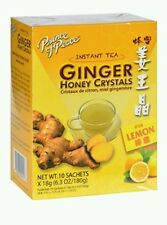 Prince of Peace  Instant Ginger Honey Crystals Tea With Lemon (10*18g Box)