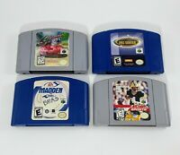 N64 Tony Hawk - Cruis'n USA Madden - NFL QB (Nintendo 64) Authentic Tested/Work