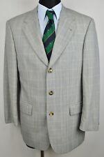 HUGO BOSS Check Pattern Wool Blazer UK 40 Jacket Tweed Coat Eur 50 Gr Top Sakko