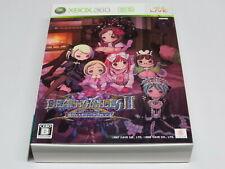 Deathsmiles IIX Limited Edition Death Smiles Xbox 360 Japan + Sealed DLC Card CD