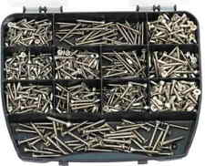 860 Assorted self tapping stainless steel countersunk screws DIN 7982