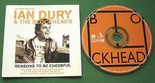 The Very Best of Ian Dury & The Blockheads Reasons To Be Cheerful CD