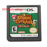 Animal Crossing: Wild World Game Only For Nintendo 3DS 2DS DSI XL Christmas Gift
