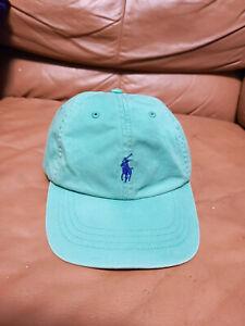 Polo Ralph Lauren Mint Green Strap Back Dad Hat