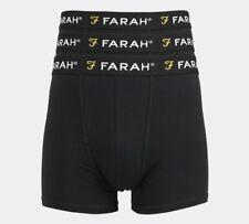 Farah - 3 Pack Boxer Short (Black) Mens