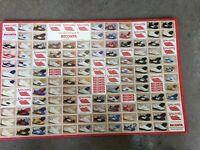 Vintage Spalding Shoe Poster Beconta Spalding Shoe Advertisement Rare USA