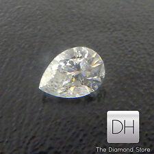 0.28 CT. Natural Pear Shape Loose Diamond H SI2 Pendant Holidays Christmas
