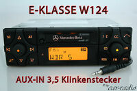 Original Mercedes Audio 10 BE3200 AUX-IN MP3 Autoradio W124 E-Klasse Kassette