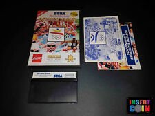 JUEGO SEGA MASTER SYSTEM  OLYMPIC GOLD (GERMAN VERSION)