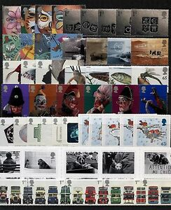 GB 2001 Commemorative Stamps~Year Set~Unmounted Mint~no m/s~UK Seller
