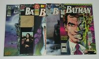 Batman Annual 14 15 16 18 & 19 Origin Two-Face DC Comics Lot of 5 Books
