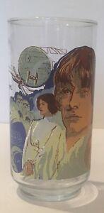 Vintage Star Wars Luke Skywalker Drinking Glass 1977 Burger King Coca Cola