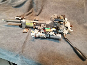 2002 Toyota Sequoia STEERING COLUMN upper assembly with tilt - WITH shifter arm