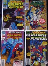 SPIDER-MAN : MUTANT AGENDA #0,1,2,3 (NM-) Full Set! BEAST! HOBGOBLIN Marvel 1994