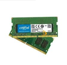 Crucial 2x 16GB 1RX8 PC4-2400T DDR4-19200S SO-DIMM Laptop Memory RAM 260pin Test