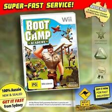 Wii Boot Camp Academy Nintendo Game PAL With Booklet Welcome to The Army
