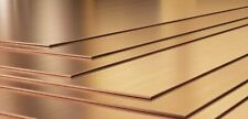 Copper Sheet plate guillotine Offcuts - 0.4mm to 3.0mm - Multiple Sizes