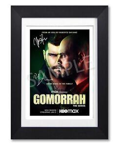 GOMORRAH CAST SIGNED POSTER HBO TV SHOW SEASON SERIES PRINT PHOTO AUTOGRAPH GIFT