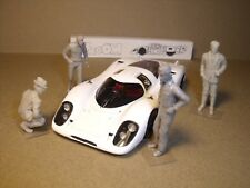 4  FIGURINES 1/43  SET 423  LA  PORSCHE  917  DE  PIECH  VROOM  FOR  SPARK  1/43