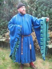 Roman Historical Costume Medieval Tunic Blue Color Best Design Fancy Look