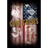 "Rare Guns n Roses GNR Axl Band Collage Slash Cloth Fabric Poster Flag 30"" x 40"""