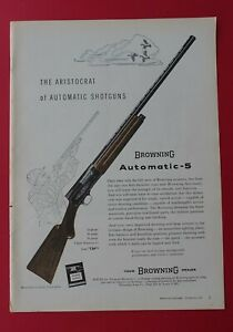 1958 Browning - The Aristocrat of Automatic Shotguns AD