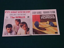 lot the korgis/ if its alright with you baby /sticky george/  45 tours