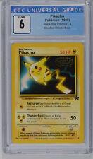 1999 Pokemon Movie Black Star Promo Pikachu #4 CGC 6 PSA 3773994108