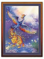 Counted Cross Stitch Kit RIOLIS - Bird Of Happiness