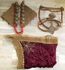 Antique Copper Golden Ethnic Horse Traditional Jewelry Accessory Rare