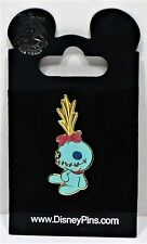 Disney Scrump Stitched Up Rag Doll With Buttons From Lilo & Stitch Pin NEW VHTF