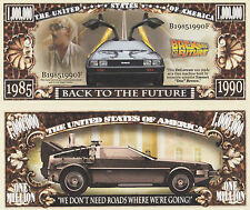 RARE: Back To The Future $1,000,000 Novelty Note, Movies Buy 5 Get one FREE