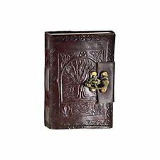 Leather Blank Tree of Life Diary Journal Vintage Writing 120 Sheets Note Cover