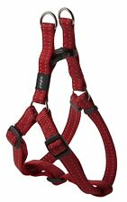 Rogz Utility Step-In Harness Snake Medium Red SSJ11 C - Red
