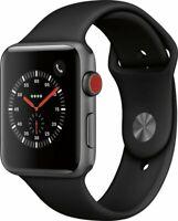 Apple Watch Series 3 GPS + Cellular 42mm Space Gray Aluminum Case GRADE C
