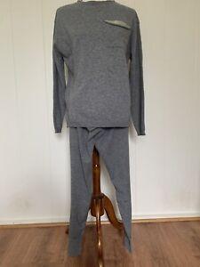 Brunello Cucinelli Cashmere / Wool Monili sweater & jogger  Set