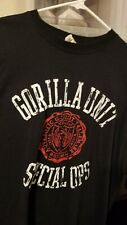 G Unit Gorilla Unit Special Ops T-Shirt Sz 3XL 50 Cent  Short Sleeve
