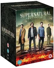 SUPERNATURAL COMPLETE SEASONS 1 2 3 4 5 6 7 8 9 10 11 12 BOXSET R4 1-12